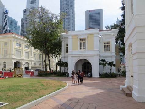 Attractions in the Civic District of Singapore