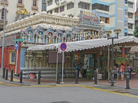 Little India District of Singapore