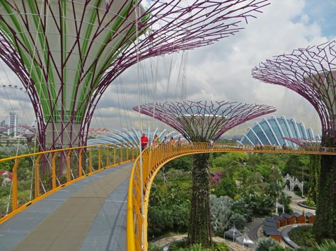 Marina Bay Attractions in Singapore