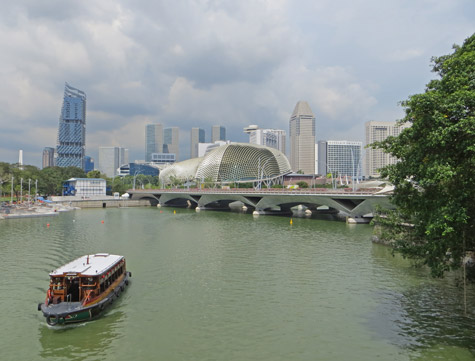 Singapore River Boat Rides