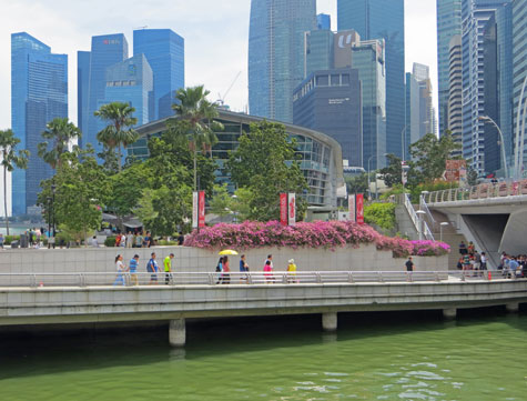 Mouth of the Singapore River