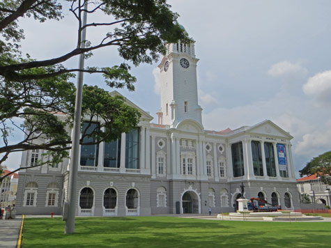 Victoria Theatre and Concert Hall in Singapore
